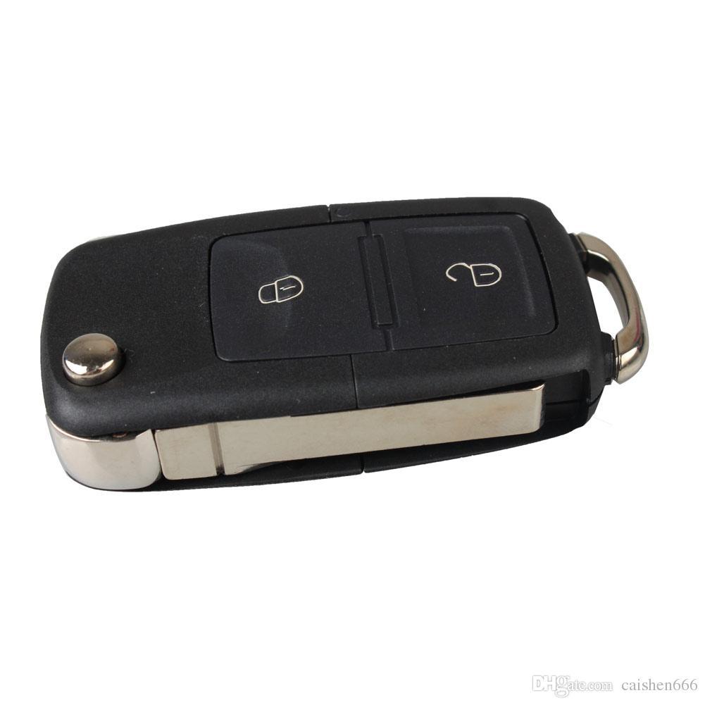 Pulsanti Panic Sostituzione Keyless Remote Key Shell Pad Loop Caso chiave Fob Repair Housing Fix per auto Toyota