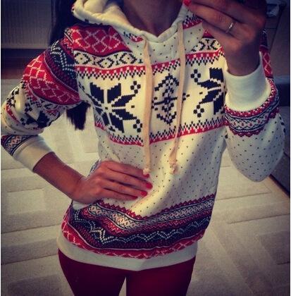 2018 TAMAÑO MÁS Mujeres Señoras suéter largo Pullover Top sudadera con capucha Jumper Coat