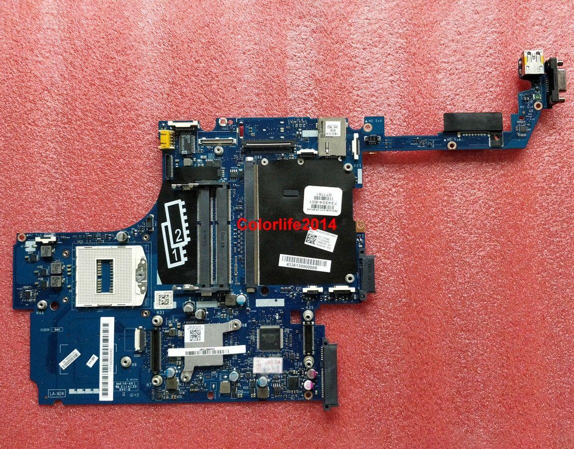 para HP ZBook 15 G1 734304-601 VBL20 LA-9241P HM87 DDR3 Placa base del portátil Placa madre probada