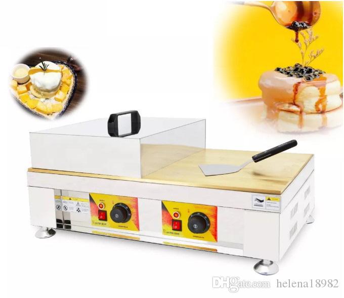جديد يصل سوفلي شعبية آلة صنع الهراء، Instafamous وجبة خفيفة نفخة كعكة الخباز، صينية ساخنة التجارية لسوفلي