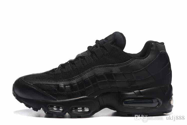 Drop доставка Оптовая Бегун обувь мужчины Airs подушка 95 OG кроссовки сапоги аутентичные 95s новый ходьба скидка спортивная обувь размер 36-46