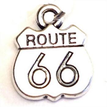 Route 66 collier ROUTE 66 Charme Pendentif Route 66 Bijoux Vélo Davidson