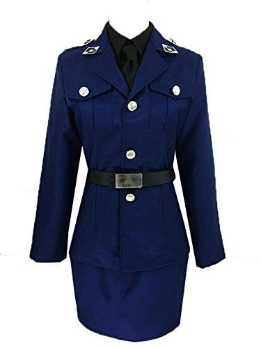 APH Axis Powers Hetalia Prussia Outfits Women's Dress Uniform