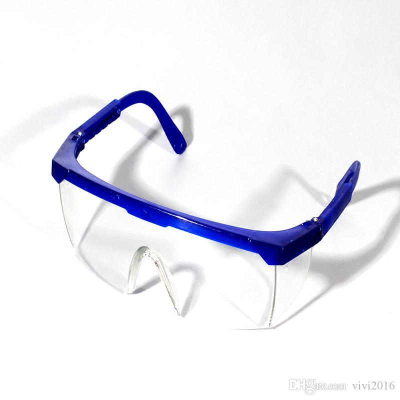 120PCS / الكثير صامد للريح نظارات الغبار العين نظارات حماية سلامة العمل واقية Sprayproof المضادة سبلاش جودة عالية