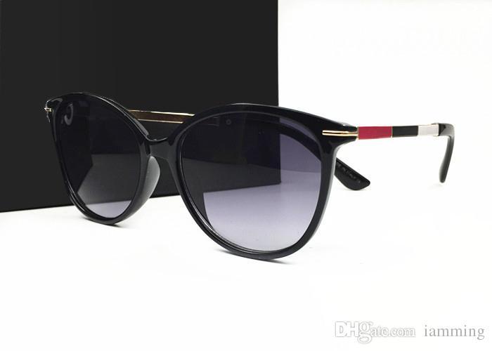 Sıcak satış Marka Tasarımcısı Moda Kadın Erkek Peluş Kaplama Güneş Gözlüğü Açık Spor Retro Güneş gözlükleri kutusu ve durumlarda