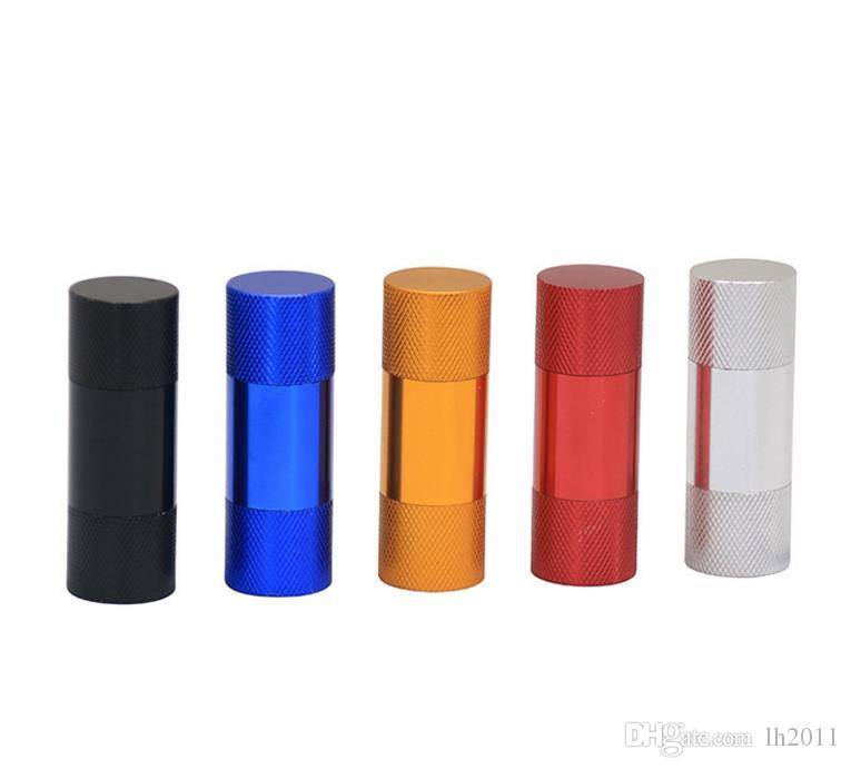 Caja de visualización de la altura los 63MM que embala los accesorios que fuman de la salida del presser de humo de la aleación de aluminio del multicolor