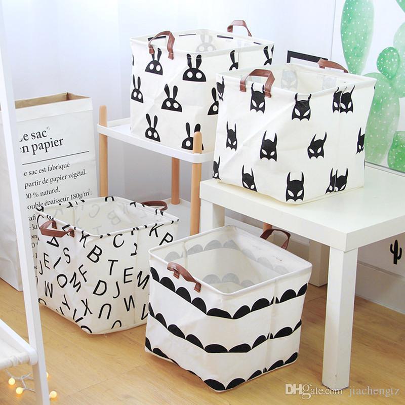 Cube pliant pour les enfants Panier à linge Toy Panier de rangement Lego Jouets Livres Mêle pour chiens Organisateur Boîte de rangement vêtements sac de rangement