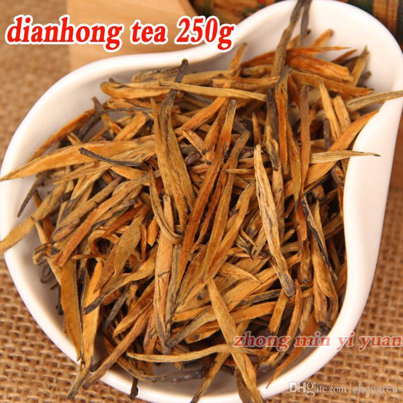 Classe spéciale 250g Yunan Fengqing Dianhong thé noir petit bourgeon d'or sain thé bio chinois en gros [mcgretea] MCdh250g-005