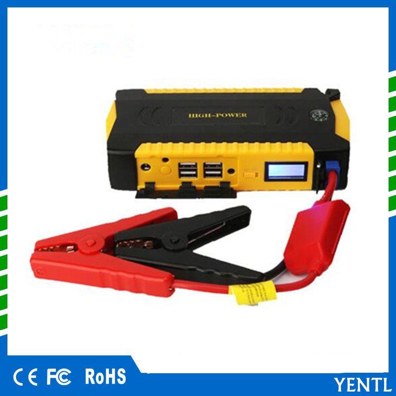 13600mAh Calidad de arranque 12V Portátil Mini Car Jump Starter Booster Power Bank Teléfono móvil Laptop Car Emergency Auto Battery Boost Charger
