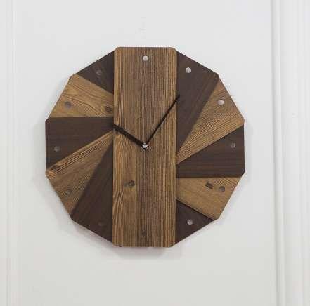 """الإبداعية الأوروبية خشبية ساعة الحائط تصميم بسيط wandklok الرجعية خمر الساعات الديكور الموقت الخشب ووتش ديكور المنزل 14 """""""