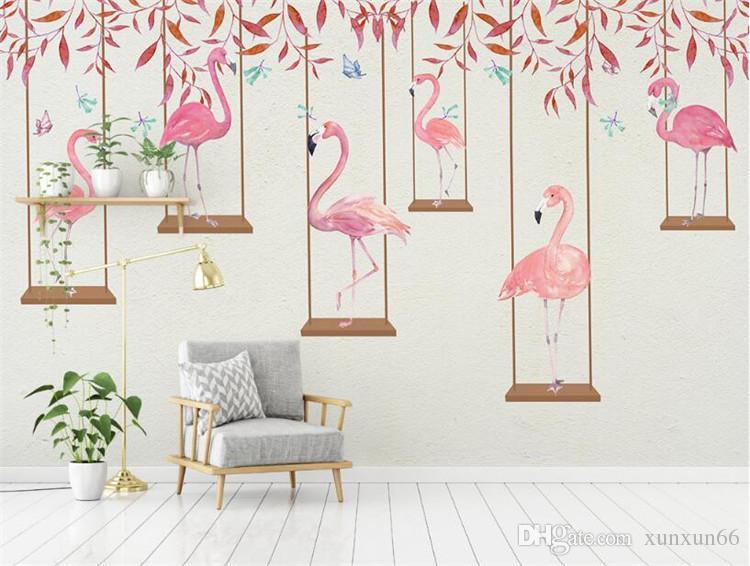Photo Wallpaper High Quality 3d Effect Cartoon Kids Room Wall