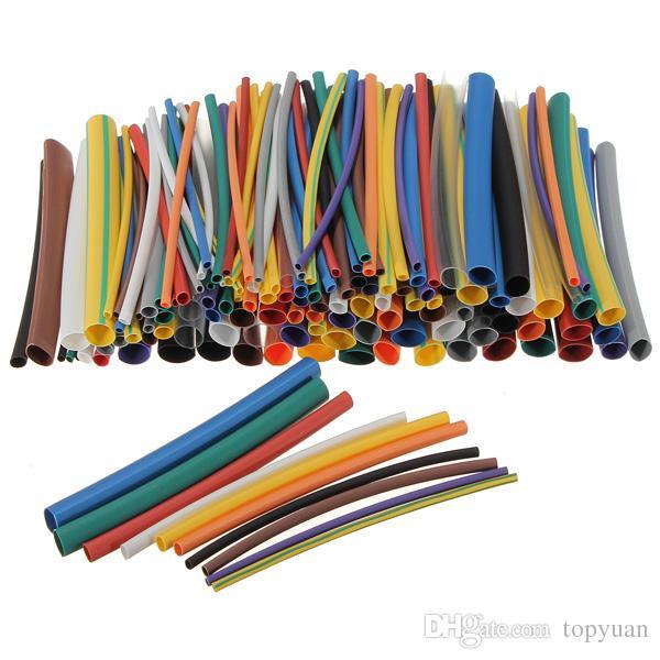 Ultimate Heat Shrink Tubing 144 pc 12 Colour Kit HeatShrink Tube Sleeve Sleeving