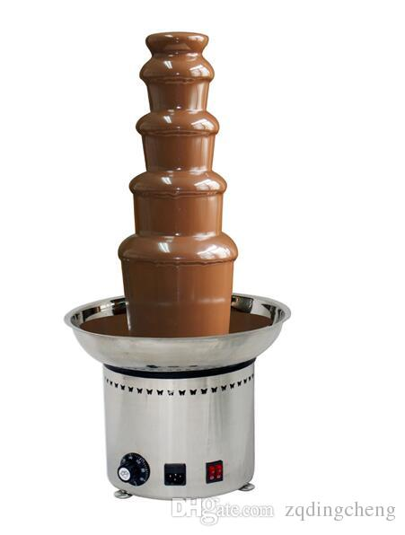 2020 Good Quality With CE 5 Tiers Chocolate Fountain ...
