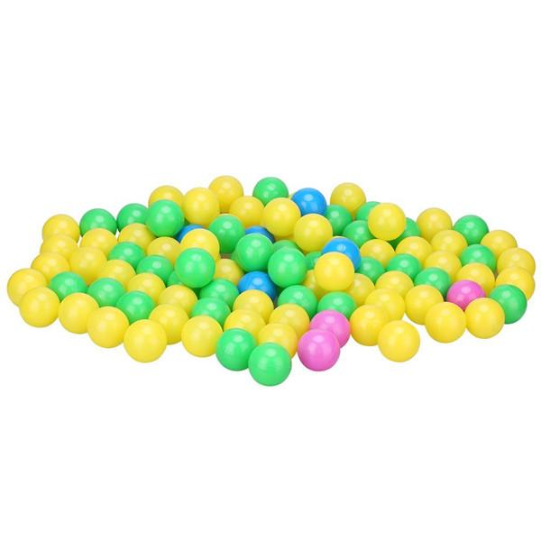 100pcs Summer Swim Fun Colorful Soft Plastic Ocean Ball Secure Baby Kid Pit Toy