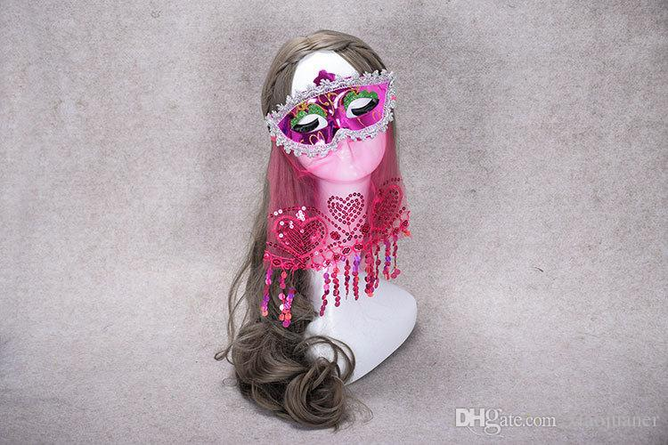 ... wholesale Veil mask Sexy Lace Mask Venetian Masquerade Ball Party Fancy  Dress Costume Lady Gifts Party ...