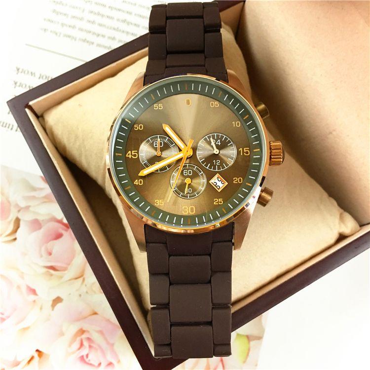 2020 haut grade militaire Homme montre Bracelet en résine de luxe montre-bracelet Casual célèbre design homme montre à quartz mâle horloge de sport de mode Goutte shippin
