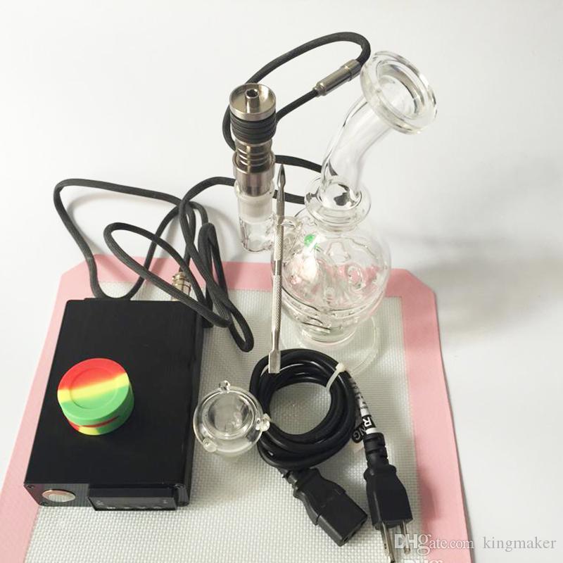 Табак кальяны Enail D ногтей Dnail регулятор температуры коробка для курения трубы воды нагреватель катушки для DIY курильщик E ногтей стекло Бонг пара