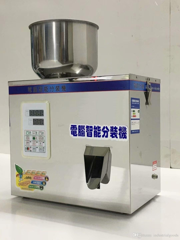 1-100g Food Automatic weighing racking machine Powder Filling machine Granular coffee Auto Scale Split Packing machine
