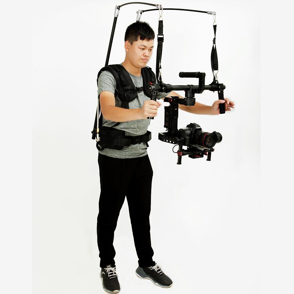 الجملة v10 easyyig 2-8 كيلوجرام / 6-13 كيلوجرام الدب كاميرا فيديو سهلة تلاعب dslr dji رونين m 3 محور gimbal استقرار الجيروسكوب steadicam سترة