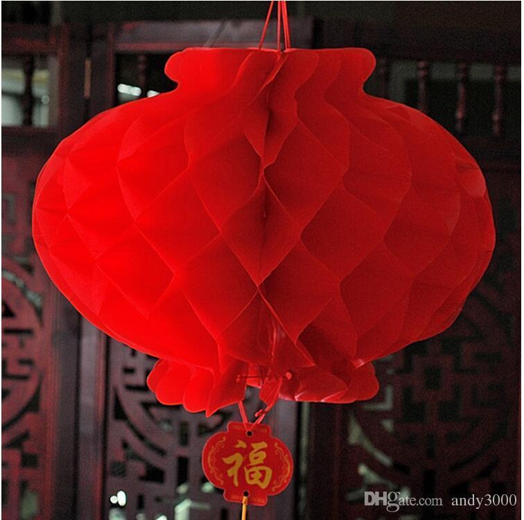 Decorazione della stanza di nozze, lanterna di carta oleata, natale nuovo anno, decorazioni di festival di primavera, lanterna decorativa della porta anteriore