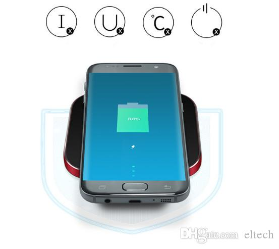 Wireless charger 10W Qi Wireless Charger Desktop Wireless Charging pad for Samsung Galaxy S9 Note 9 iPhone X 8