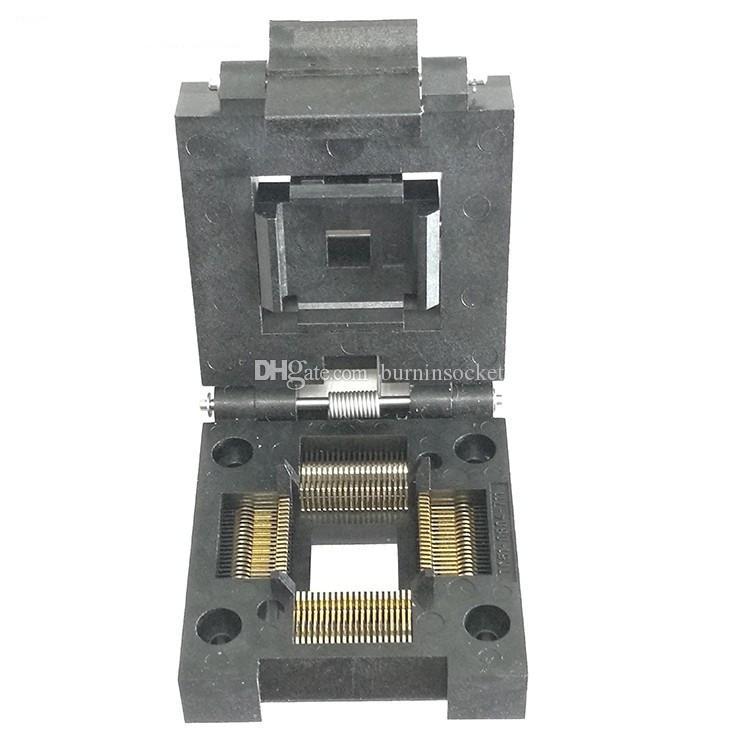 Enplas otq-80-0.5-02 IC test /& Burn-en socket for qfp80//TQFP 80//fqfp 80//pqfp 80 PAC