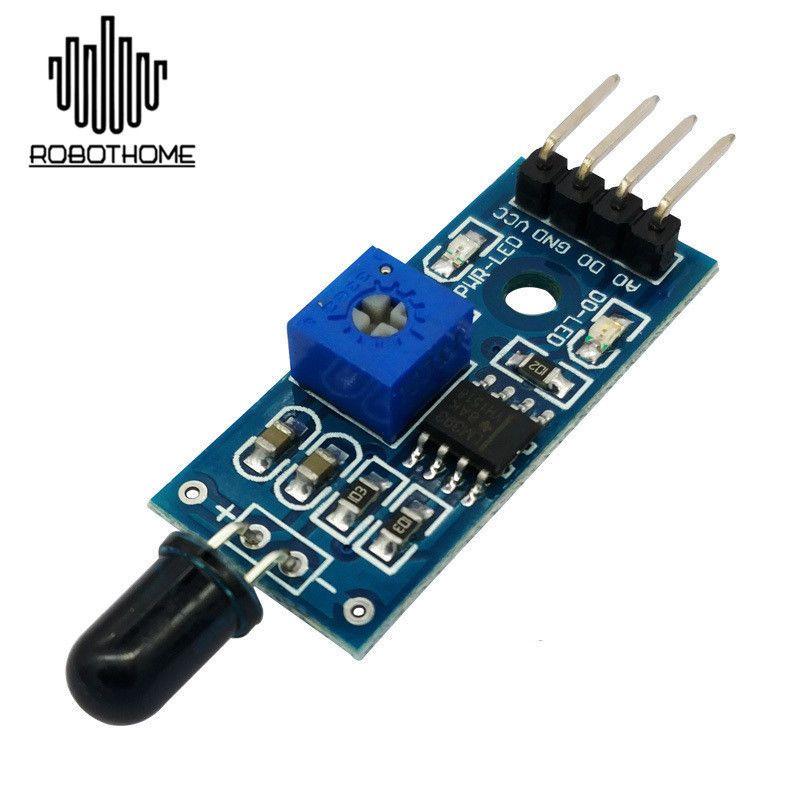 5Pcs IR Infrared Fire Detector Flame Detection Sensor Module for Arduino IJQ