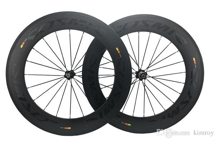 88MM bob cosmic carbone SLR bike/bicycle Wheelset road bike parts Clincher Carbon Wheels complete carbon wheelset