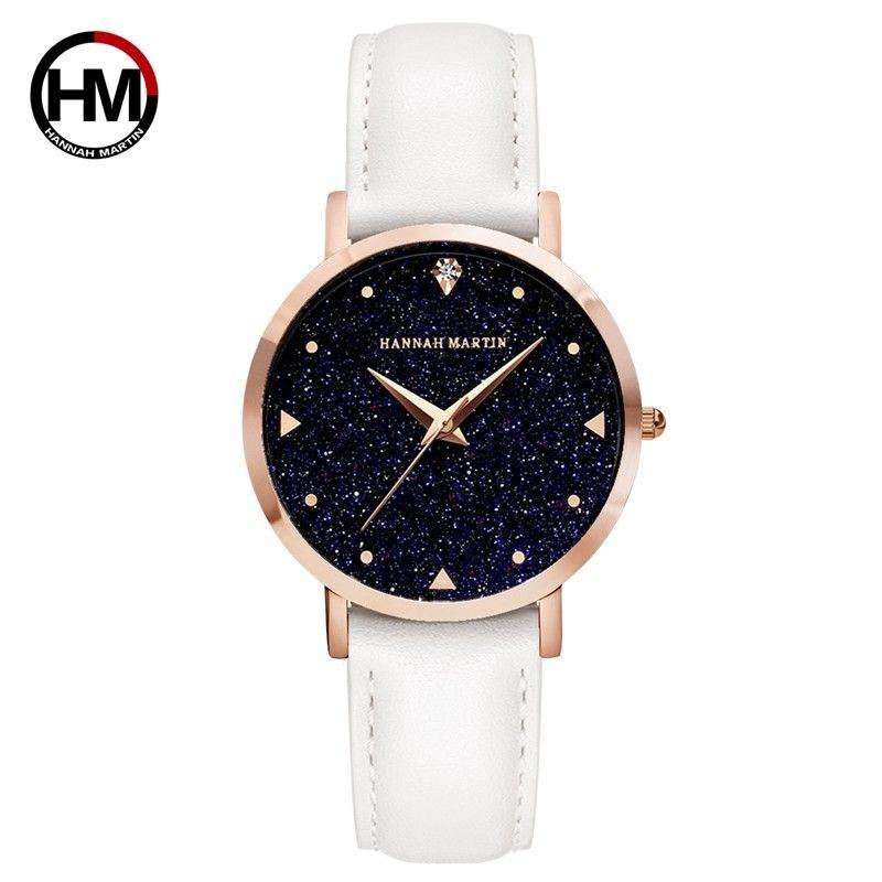 2018 New Star Wrist Genuine Lady Leather Quartz Women Japan Watch Watches XK36 Fashion For Diamond 6 Colors Movement Ngmsx