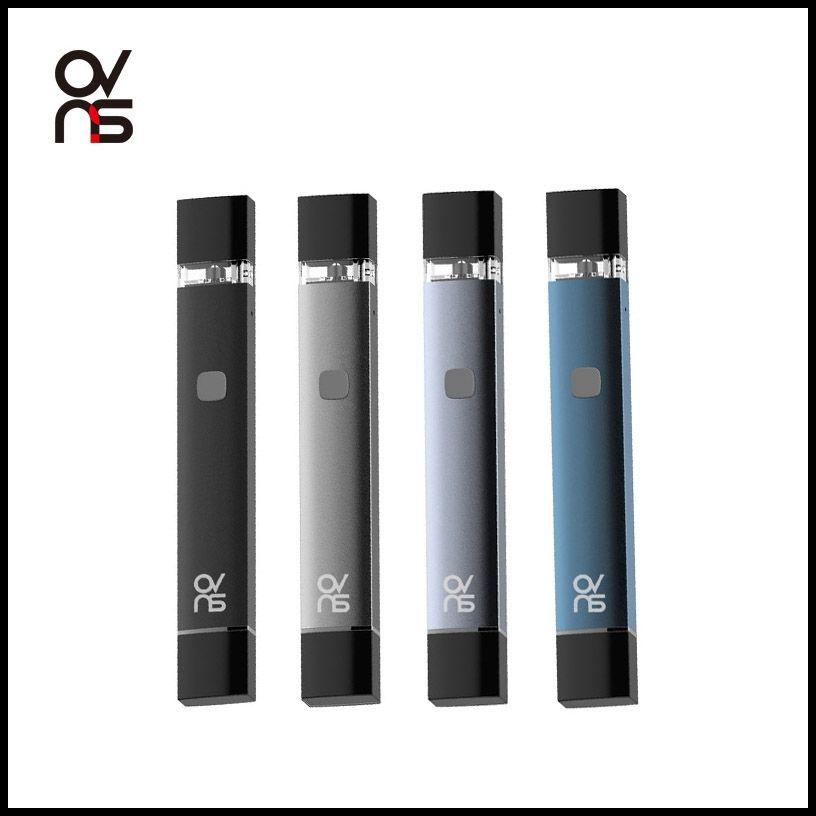 Kit Ecigarette de stylo bille vide avec cartouche de vape OVNS portable avec batterie 250mAh, cartouches d'huile épaisse de 0,5 ml, kits de démarrage, stylos vaporisateurs, charge USB