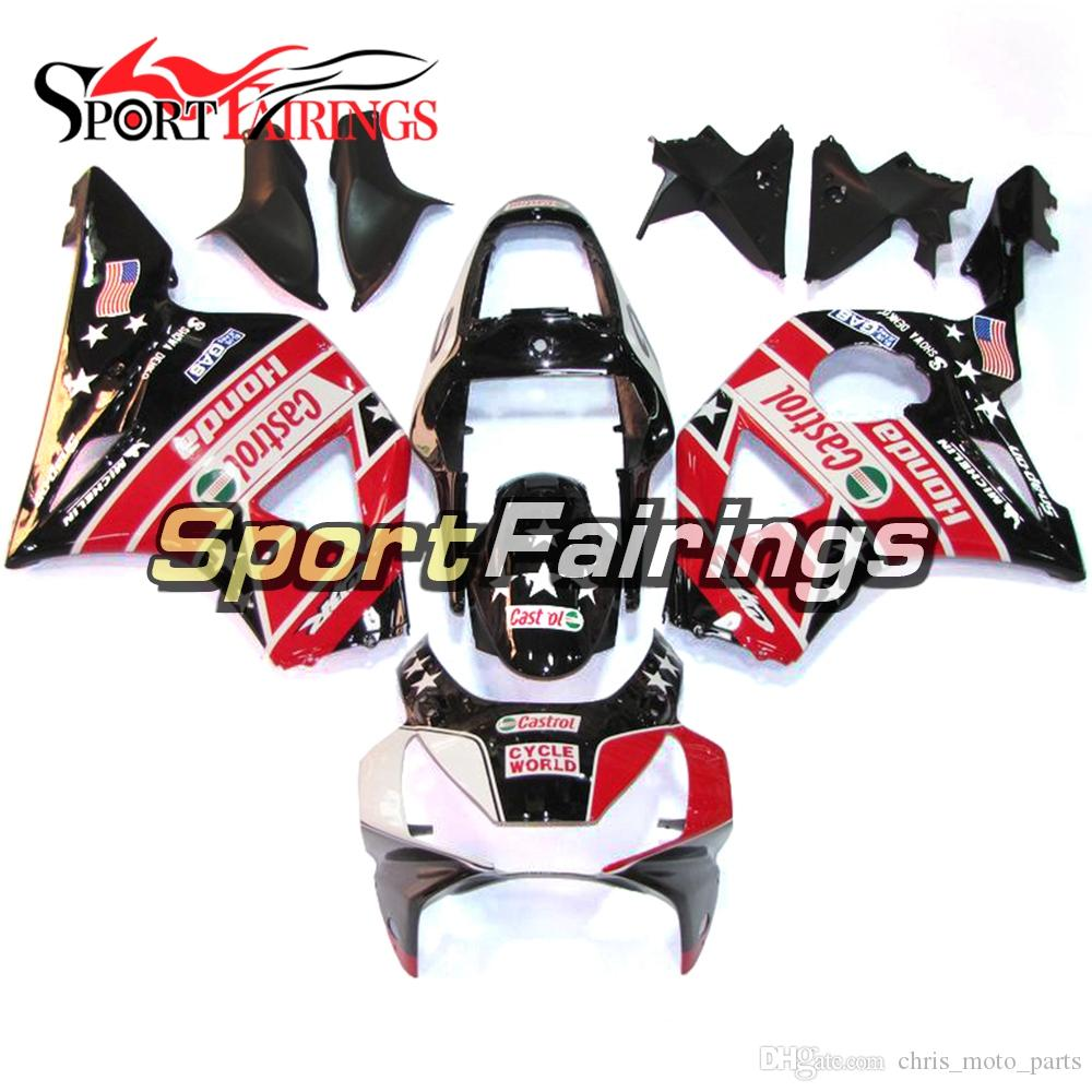 Fit For Honda CBR900RR 954 Year 2002 - 2003 Plastic Motorcycle Fairing Kits ABS Injection Cowlings Complete Fairing Body Star Red Black
