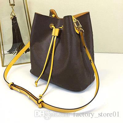 2019 Designer Famous handbags NEONOE shoulder bags Noé leather bucket bag women flower printing crossbody bag purse TWIST