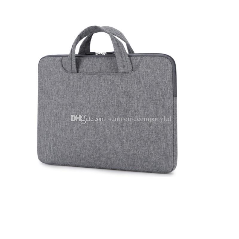 Водонепроницаемый 13 дюймов ноутбук сумка ноутбук сумка Мужчины Женщины портфель ноутбук рукав чехол бизнес сумка портфель сумка бесплатная доставка