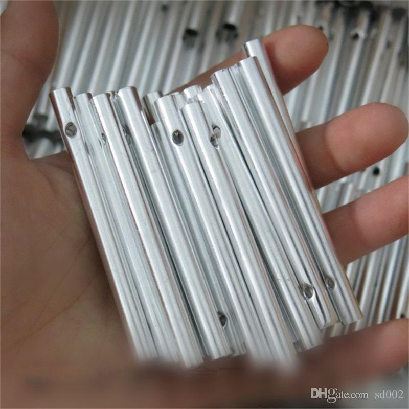 홈 DIY 바람 차임 튜브 멀티 크기 Windbell 튜브 금속 재료 중공 아웃 펜던트 수공예 선물 0 3gx4 BZ
