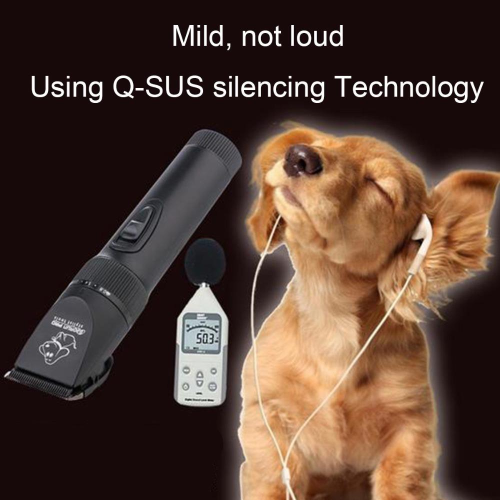 New BaoRun P7 Strong Power Electric Professional Pet Dog Hair Trimmer Grooming Clipper Pet Product Haircut Machine 110V-240V