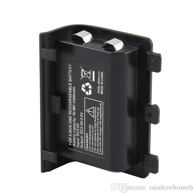 Sostituzione Battery Pack per Xbox One X Slim controller ricarica bacino doppio della stazione del caricatore ricaricabile via cavo USB Batterie