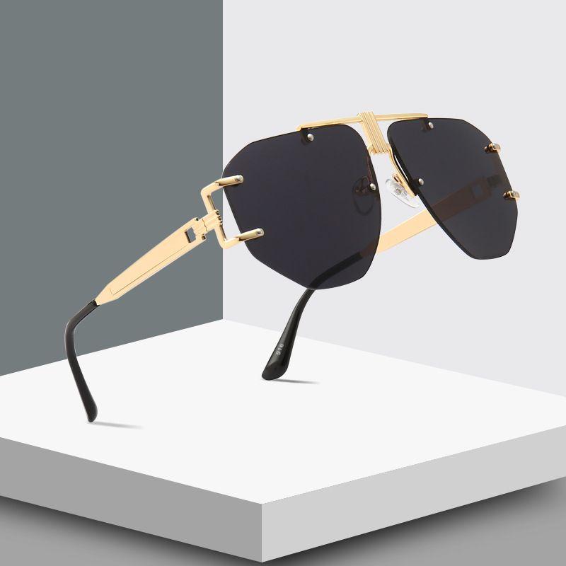 Новый Стиль Классические Солнечные Очки Женщины Мужчины Марка Дизайнер Роскошные Солнцезащитные Очки Для Мужчин Черный Мода Высокого Качества Женщина Оттенки UV400