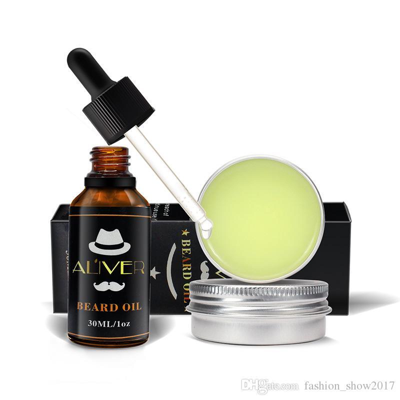 aliver الطبيعية اللحية العضوية النفط اللحية شمع بلسم منتجات الشعر الإجازة في مكيف لينة ترطيب الرعاية الصحية