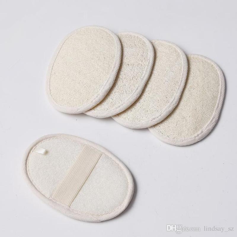 Loofah Natural Luffa Pad Skin Exfoliation Skin Scrubber Ducha de baño Spa Accesorios de baño de esponja Clean Smooth Skin