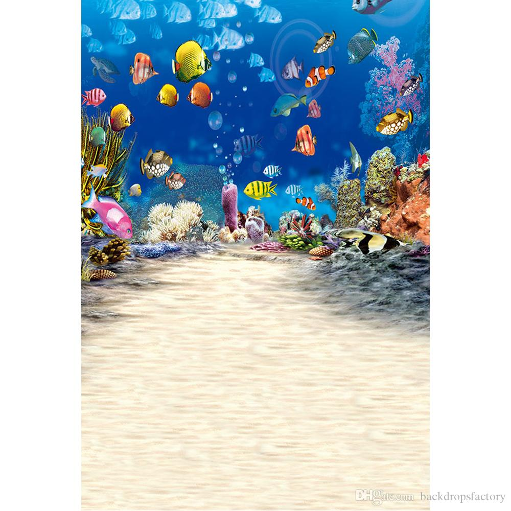 Decoration Sea World Photography Background Photo Backdrop Professional Vinyl