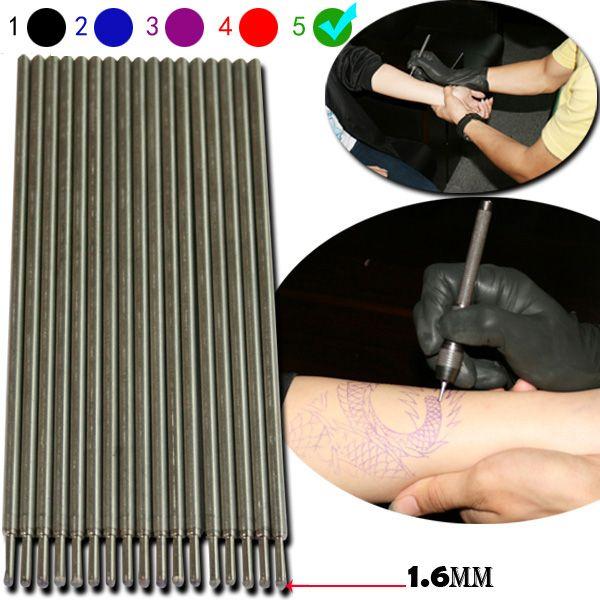 Yilong 20 قطع عالية الجودة الأخضر الوشم ماركر القلم ل الوشم استنسل مخطط التموين شحن مجاني الوشم هيئة الفن