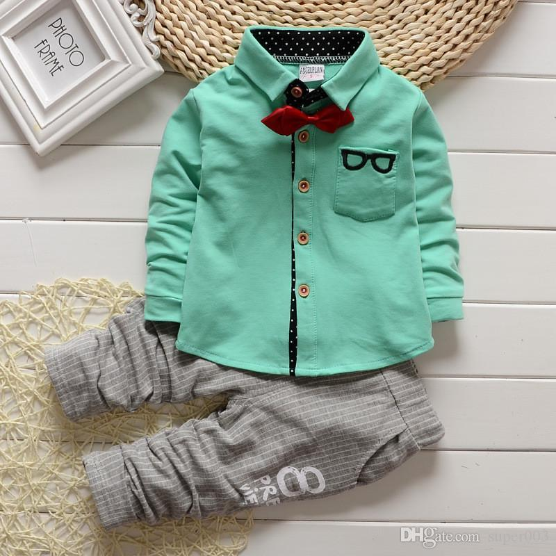 Crianças roupas primavera outono bebê meninos conjuntos de roupas crianças camisetas + calças cardigan do menino terno crianças treino conjunto
