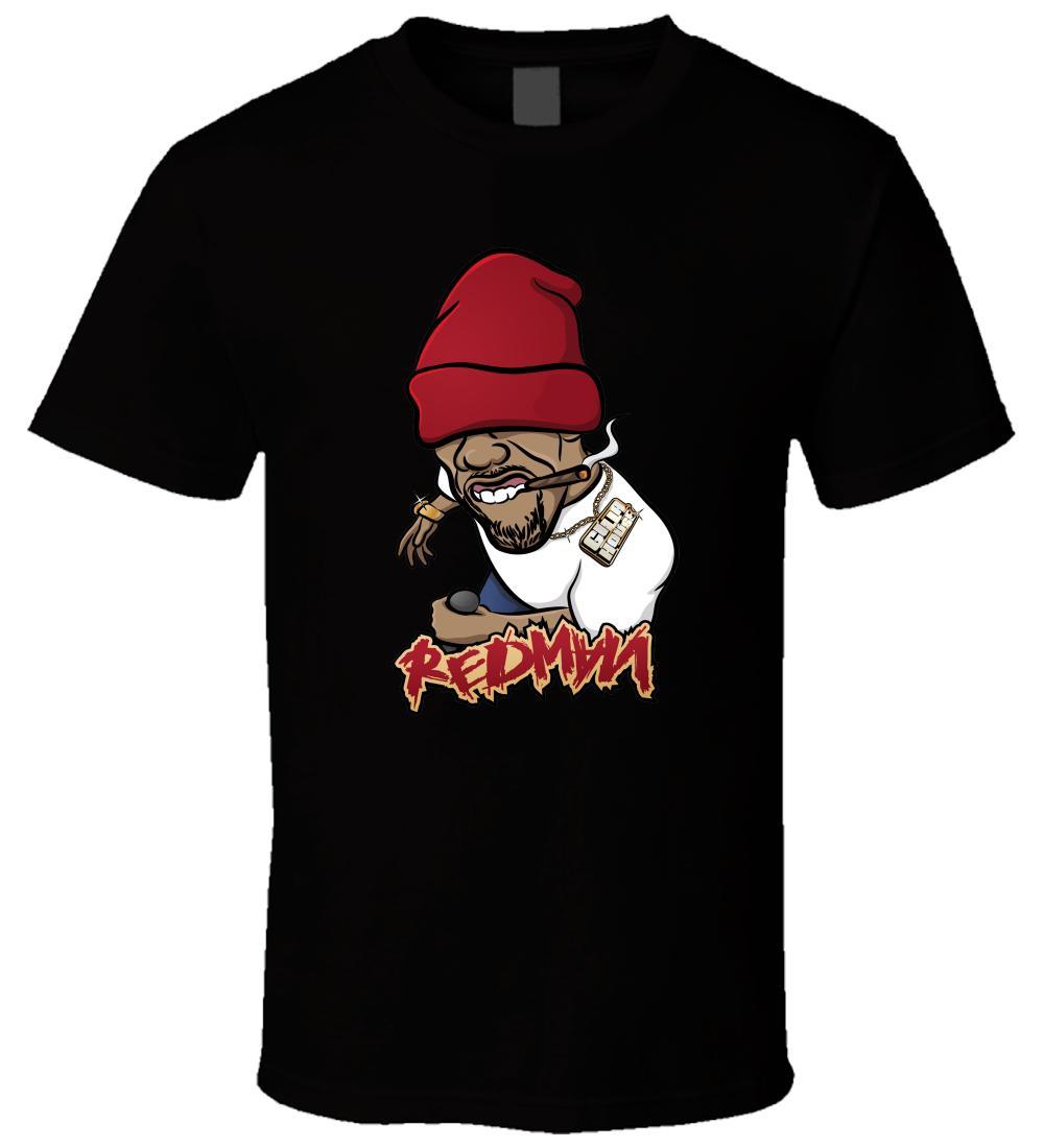 REDMAN 1 Schwarzes T-Shirt