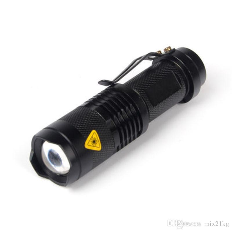 Super Bright Q5 1200 Lumen 14500 ZOOMABLE LED Waterproof Flashlight Torch Cycling Bicycle Bike Lights High/Low/Strobe 3 Modes