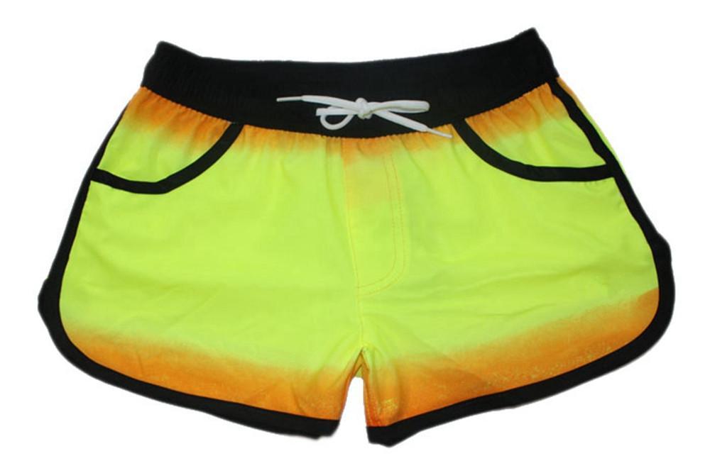 Elastic Fabric Low Regular Sexy Casual Shorts Womens Bermudas Shorts Board Shorts Beachshorts Swimwear Swimtrunks Quick Dry Surf Pants NEW