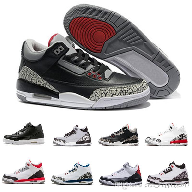 zapatilla de deporte de los zapatos de baloncesto de cemento negro verdadero Katrina azul infrarrojo 23 lobo gris Tinker NRG mejores zapatillas de deporte hombre de la calidad del diseñador del envío libre