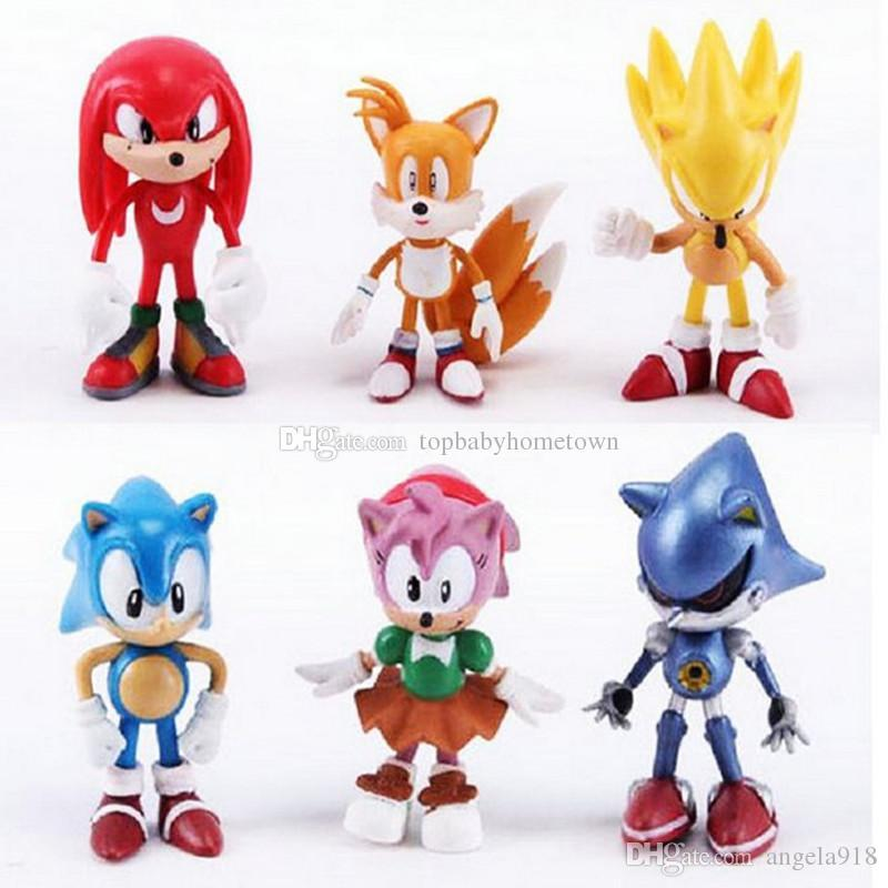 2020 Sonic The Hedgehog Action Figures Toy Sonic Anime Characters Figure Toys C4331 From Angela918 3 39 Dhgate Com