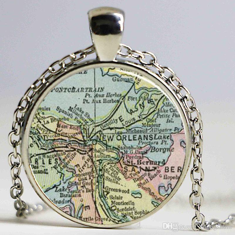 Scotland Britânica Mapa Pendant Patriótica Cadeia Presente Colar moda jóias para miúdos das mulheres dos amigos Família