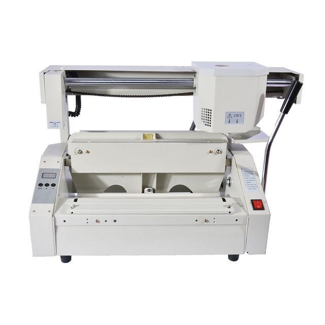 1pc glue book binding machine glue book binder machine hot melt book binding machine booklet maker