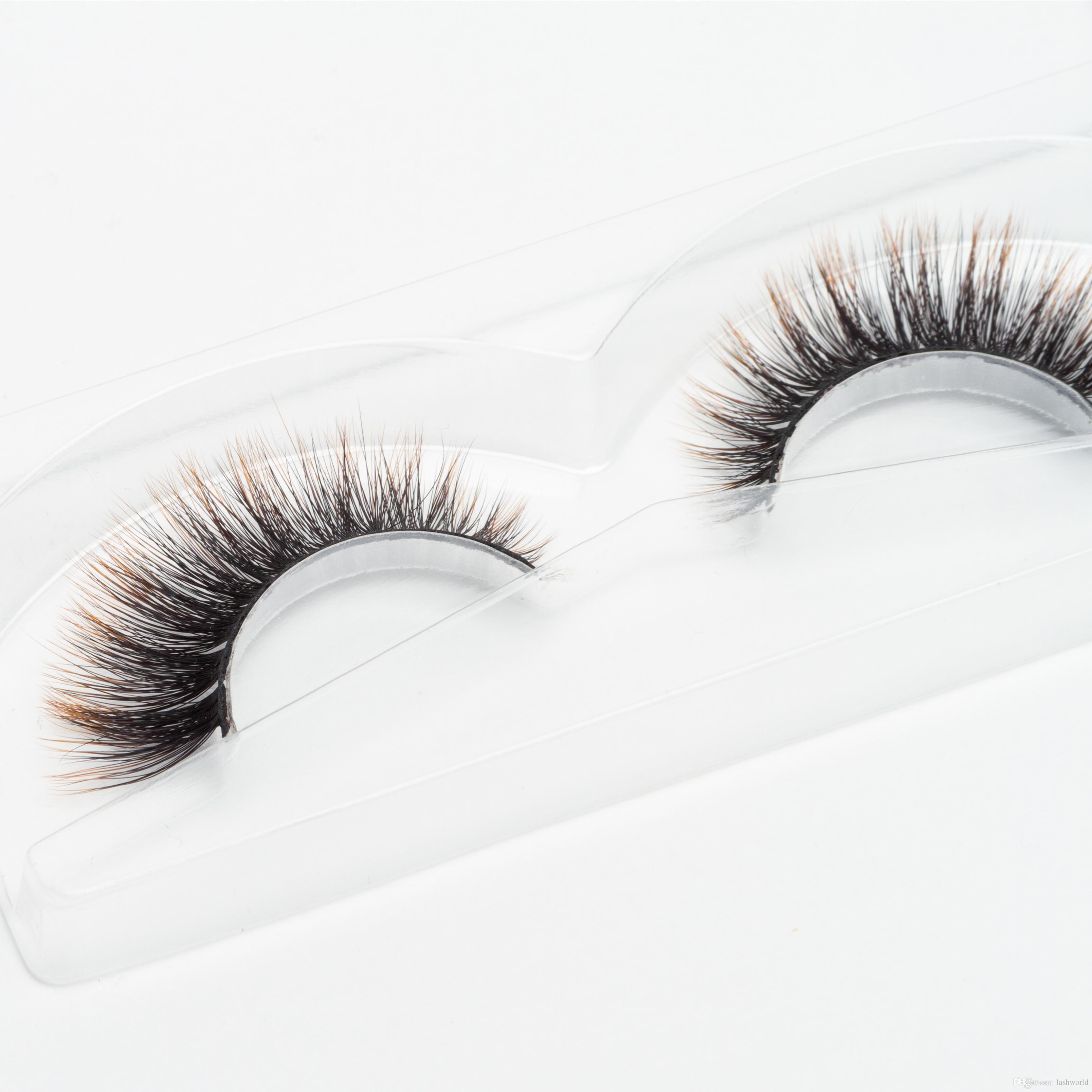 Seashine Handmade 3d silk eyelashes colorful synthetic eyelash make up eyelashes false color lashes free shipping